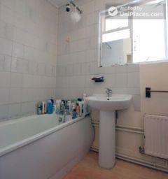 Single Bedroom (Room F) - 6-bedroom apartment in calm West Kilburn