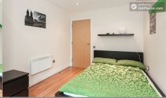 Double Bedroom (Room 2) - Modern 3-bedroom apartment in fashionable Hoxton