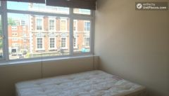 Single Semi-Ensuite Bedroom (Room B) - 5-Bedroom house located right next to Weavers Fields park in Bethnall Green