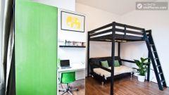 Warm studio apartment in fashionable Shoreditch