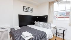 Simple studio-apartment in accessible King's Cross