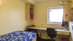 Semi-Deluxe Ensuite Bedroom - Awesome student residence in the city centre