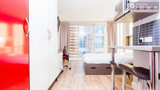 Deluxe Studio - Colourful Studios with a Roof Terrace in Cool Camden Town 10 Image