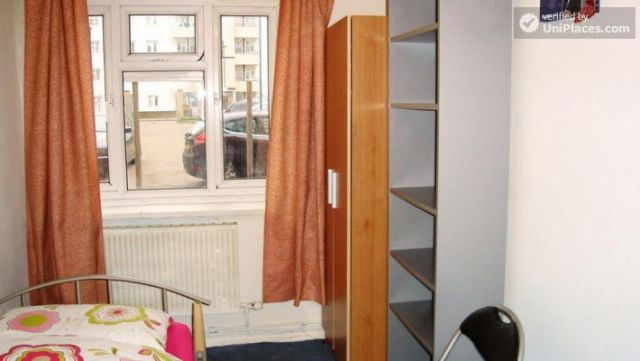 Single Bedroom (Room B) - 4-Bedroom apartment in pleasant Queen's Park 5 Image