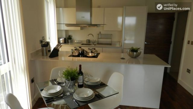 Rooms available - Modern 2-bedroom apartment by Deptford Creek in Greenwich 6 Image