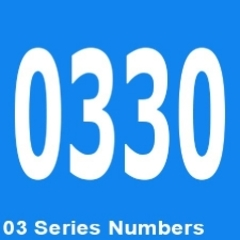 0330 Customer Service Phone Numbers