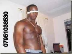 Tall Hung Black Male Escort London UK