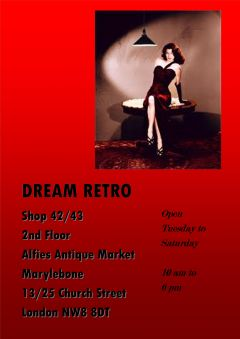 Dream Retro for cool vintage shopping Tues-Saturday