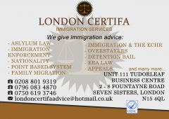 For all your IMMIGRATION MATTERS