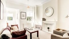 A stunning third floor apartment in Central London