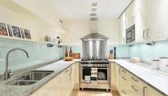 A stunning one bedroom, two bathroom apartment