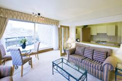 Spacious Apartment With A Beautiful Private Terr
