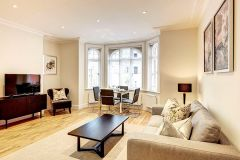A stunning two bedroom, two bathroom apartment