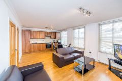 A stunning two-double bedroom, two bathroom flat