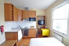 A modern fully self contained studio, bills included