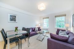 A beautiful two bedroom, two bathroom apartment