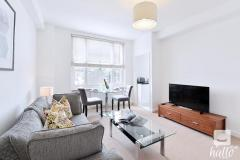 Stunning one double bedroom flat for SHORT OR LONG LET