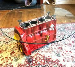 Bespoke Engine Block Coffee Table