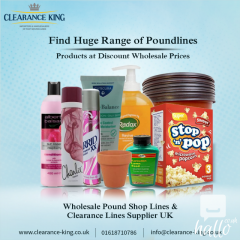 Discount Pound Shop Wholesale SUpplier