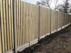 Closed Board Fencing London