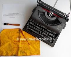 Imperial Vintage Manual Typewriter, Working Portable, Made in UK