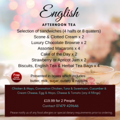 High Quality Luxury English Afternoon Tea On Sal