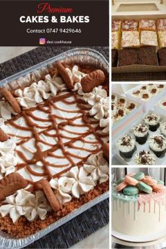 Best Quality Cakes/Desserts Delivered To Your Do