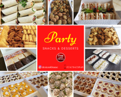 High Quality Fresh Party Snacks/Sandwiches & Des