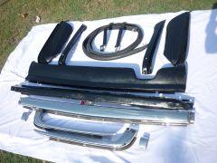 Mercede benz R107 stianless steel bumper