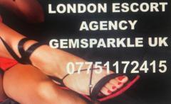 LONDON ESCORTS AGENCY GEMSPARKLE UK