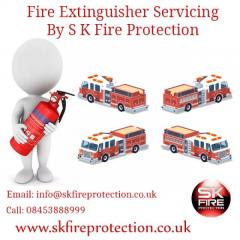 Fire Extinguisher Servicing By S K Fire Protection.
