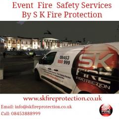 Contact S K Fire Protection For Event Fire Safety