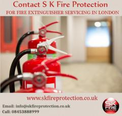 Contact S K Fire Protection For Fire Extinguisher