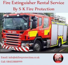 Fire Extinguisher Rental Service By S K Fire Protection