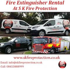 Fire Extinguisher Rental At S K Fire Protection