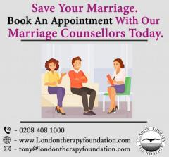 Book An Appointment With Our Marriage Counsellors Today