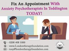 Fix An Appointment With Our Anxiety Psychotherap