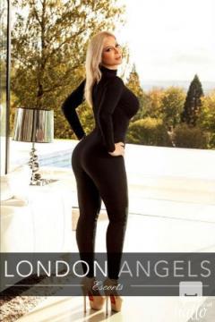 LONDON ANGELS ESCORTS CURVY MARIANA W8 - 020 7205 2663