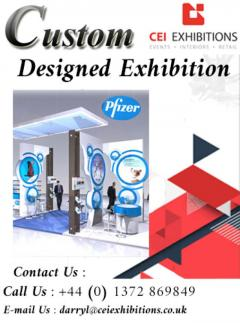 Custom Designed Exhibition Stands By CEI Exhibition