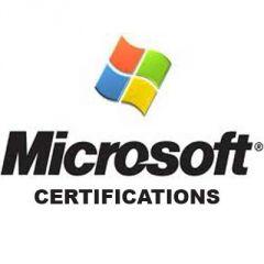 Microsoft Certification 100 Percent Guaranteed Pass