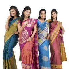 Buy Pure Kancheepuram Silk Sarees Online - Mirraw