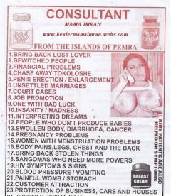 Get help frm the strongest Healer, Herbalist & Spell