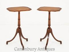 Pair Regency Side Tables - Pair Wine Table 1920