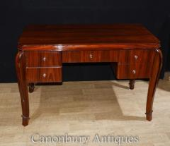 Art Deco Desk - Rosewood Office Furniture