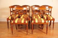 Walnut Dining Chairs  Canonbury Antiques