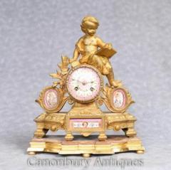 Cherub Clocks  Canonbury Antiques
