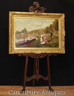 Buy Oil Paintings  Canonbury Antiques