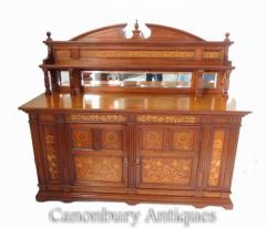 Arts and Crafts Sideboard - Antique Edwardian Buffet