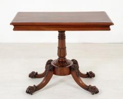 Buy Irish William IV Side Table - Antique Mahogany