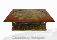 Buy Regency Penshell Coffee Table Walnut Online